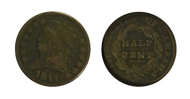 1811 1/2 Cent