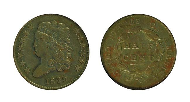 1825 1/2 Cent