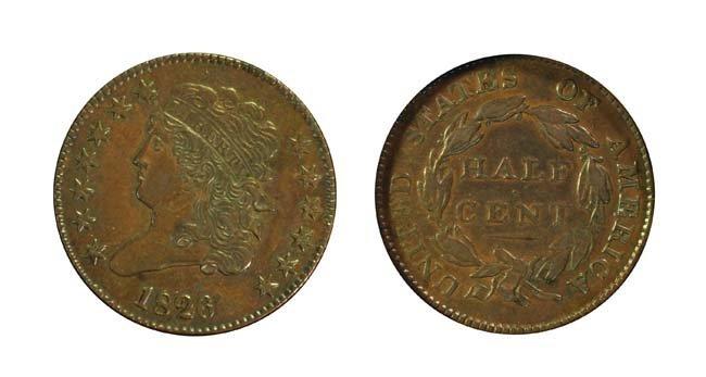 1826 1/2 Cent
