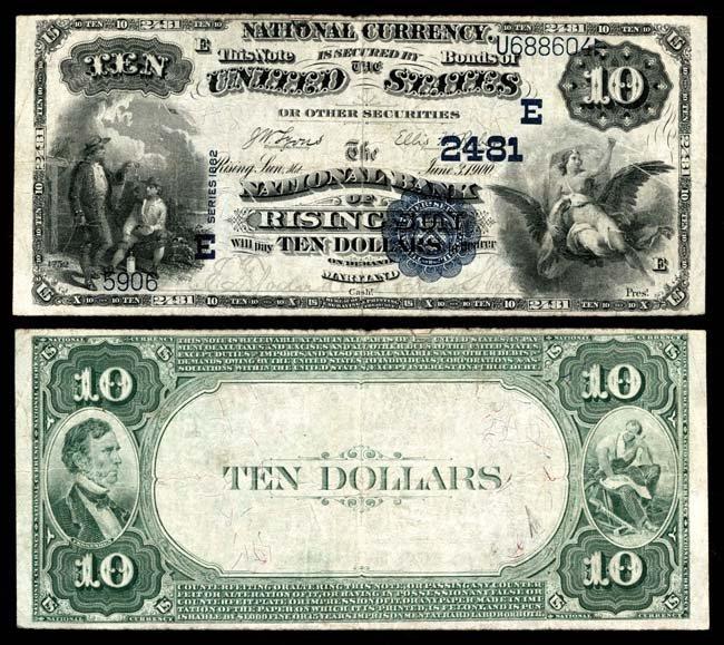 National Bank Notes ; Maryland
