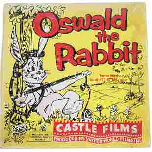 Rare Oswald the Rabbit 8mm or 16mm Projector Film