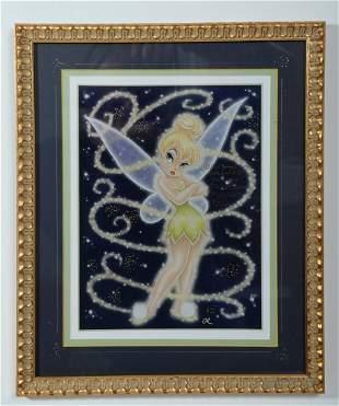 Disney Tinker Bell Modern Art Print Signed Margaret Ker