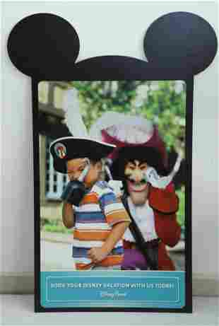 Disney Parks Captain Hook Sign