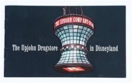 Disneyland Upjohn Drugstore Brochure