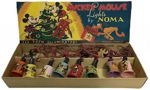 Disney 1930's Mickey Mouse Lights by NOMA