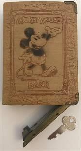 Disney 1930's Mickey Mouse Book Bank