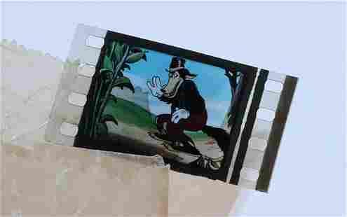 Disney The Big Bad Wolf Scene Press Slide