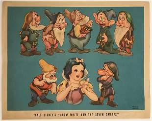 Disney Snow White Lobby Card