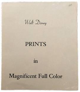 Vintage Walt Disney 1940's Animation Prints