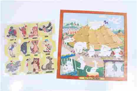 Disney Dumbo Character Sheet Game