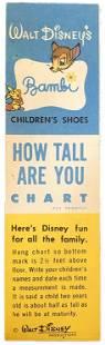 Walt Disney Animation Character Height Chart