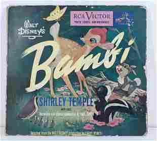 Walt Disney's Bambi by Shirley Temple Album