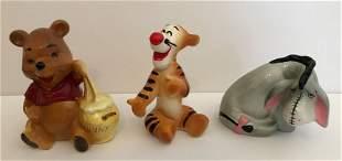 Disney Vintage Winnie the Pooh Figurines