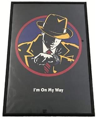 "Disney Dick Tracy ""I'm On My Way"" Poster"
