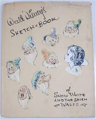 Walt Disney's Sketchbook of Snow White and the 7 Dwarfs