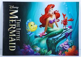 The Little Mermaid 2013 Exclusive Lithographs Signed