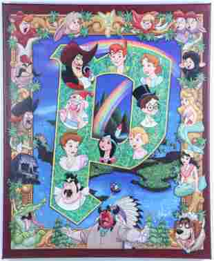 Disney D23 2017 Limited Edition Peter Pan Giclee