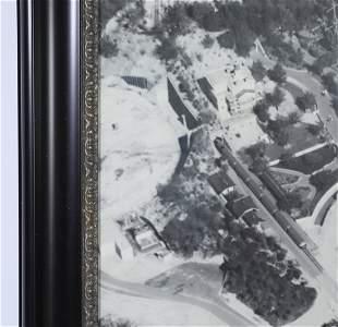 Disney Studios Oversized Disneyland Aerial Print
