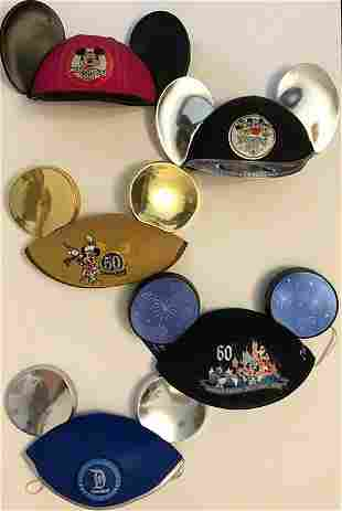 Disneyland Mouse Ears Through the Years