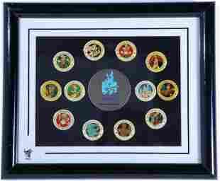 Disneyland 35th Anniversary Commemorative Pins