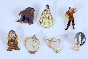Disney Beauty & the Beast Premiere Cast Member Pins