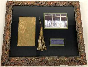 The Haunted Mansion Window Shade Prop