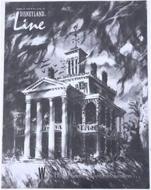 Disneyland Line Oct 1993 Haunted Mansion Cover