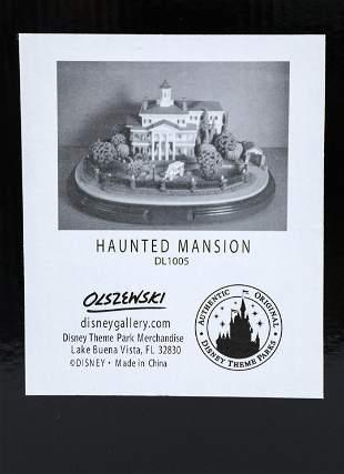 Disneyland 50th Anniversary Haunted Mansion Olszewski