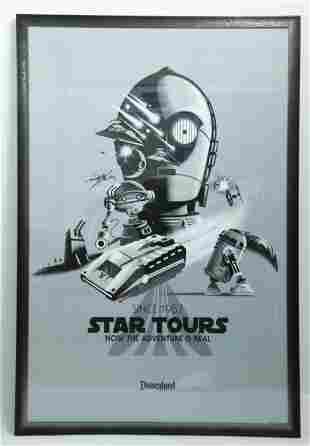 Disneyland 30th Anniversary Star Tours Poster