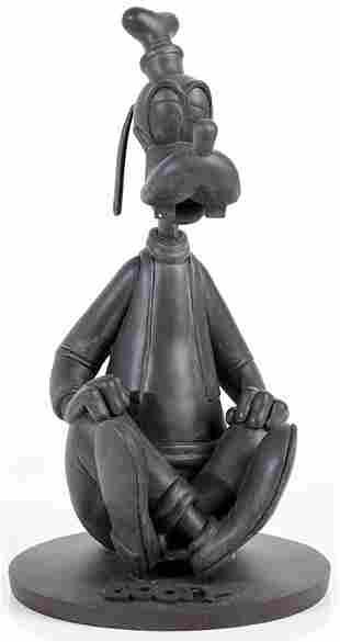 CHARITY Epcot Goofy Bronze Style Statue
