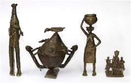 4 Bronzen Afrika