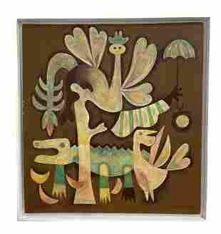 Attributed to Mario Carreno Cuban-Chilean (1913-1990)