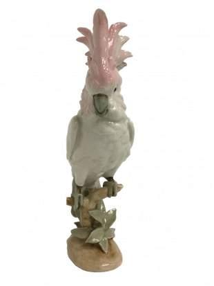Royal Dux Cockatoo #452