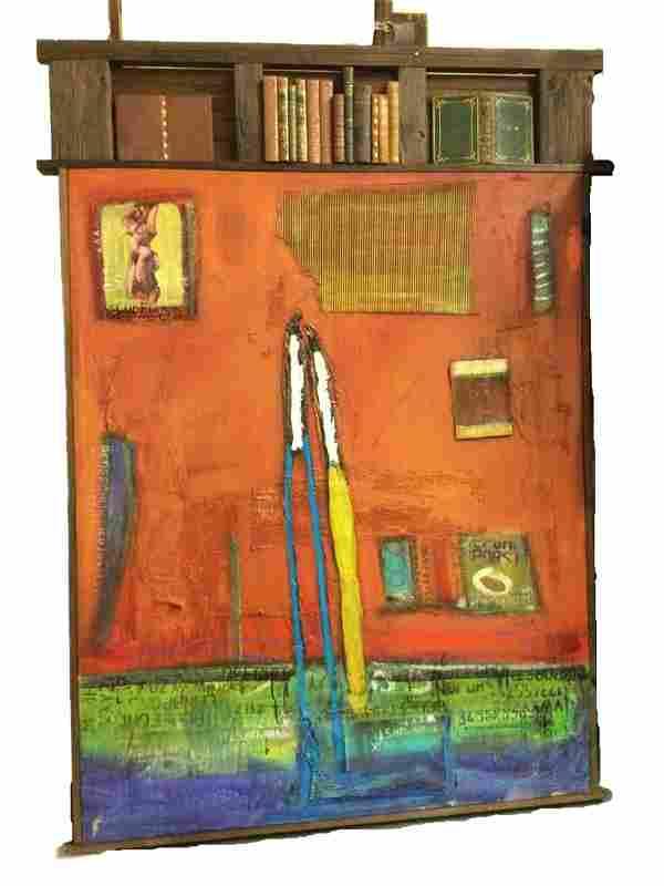 William Debilzan (American) Oil on Canvas