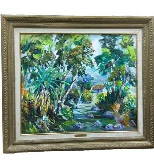 J.A. Mora (Venezuela) Oil on Canvas