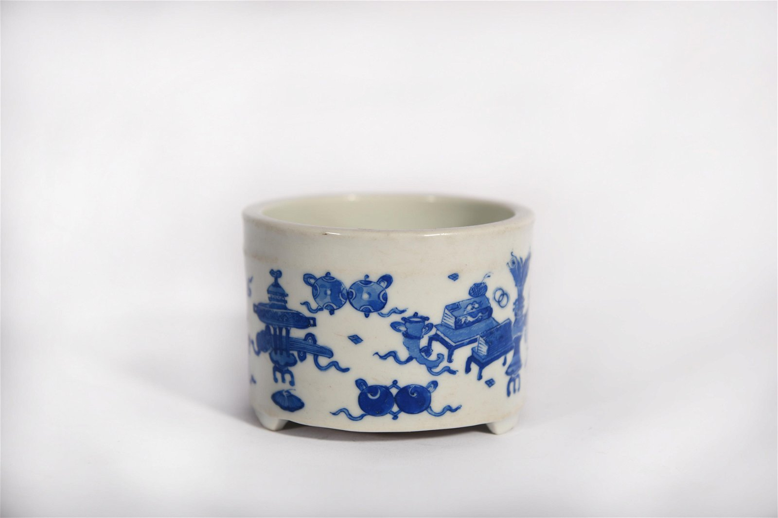 A Blue and White Censer Kangxi Period