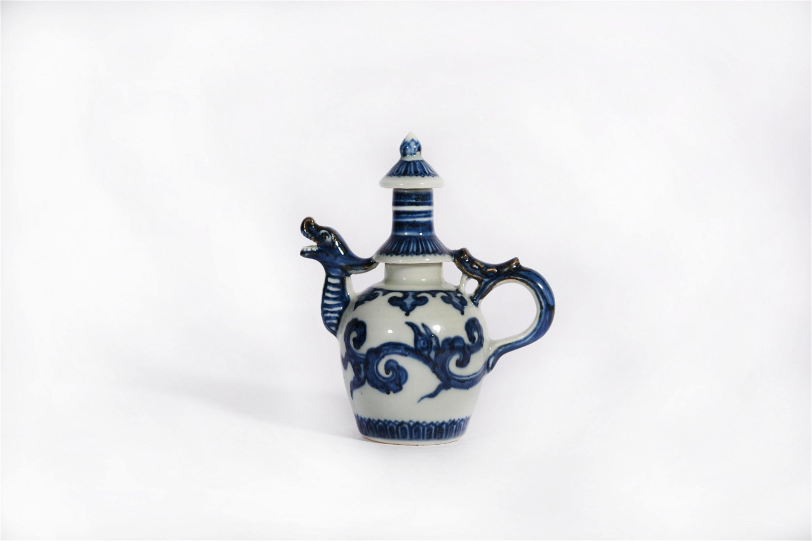 A Blue and White Ewer Xuande Period