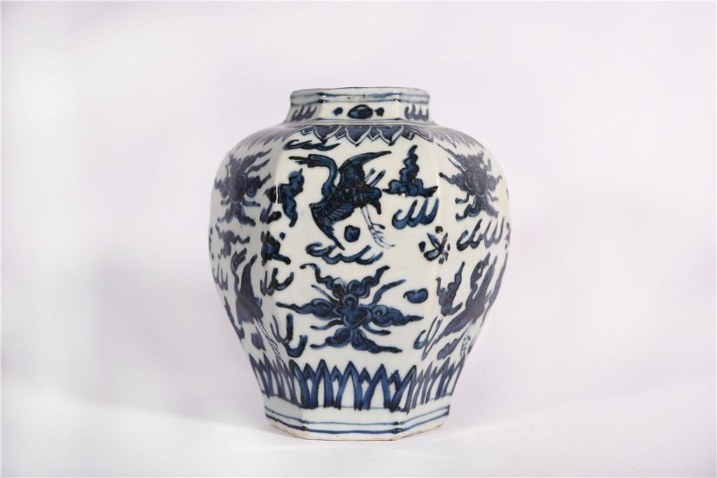 A Blue and White Jar Jiajing Period
