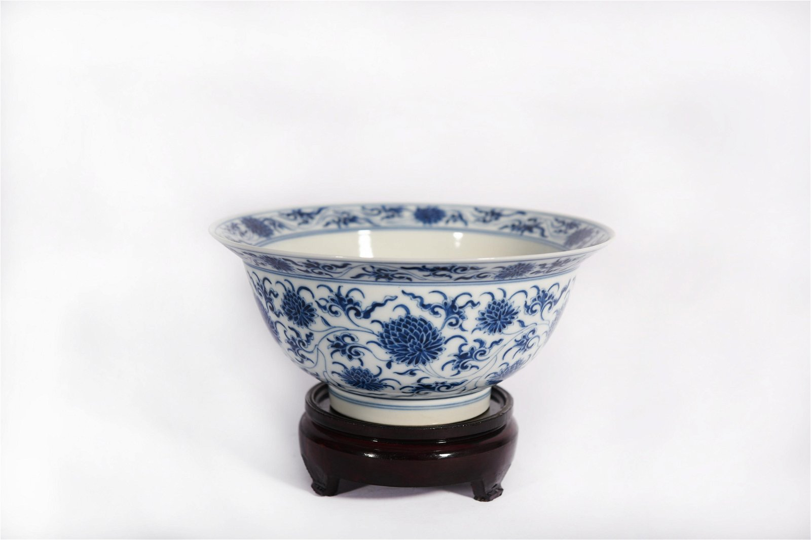 A Blue and White Bowl Kangxi Period