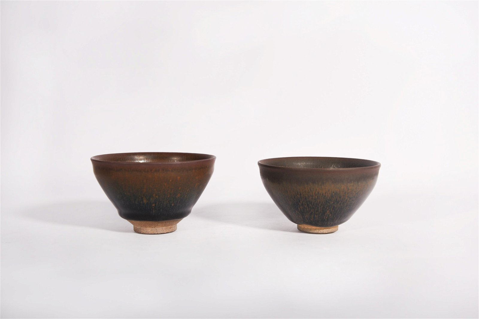 Two Hares Fur Tea Bowls Song Dynasty