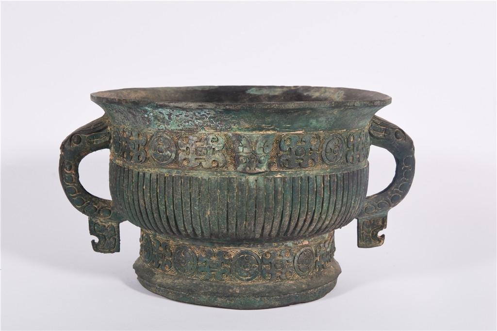 A Bronze Ding West Zhou Dynasty