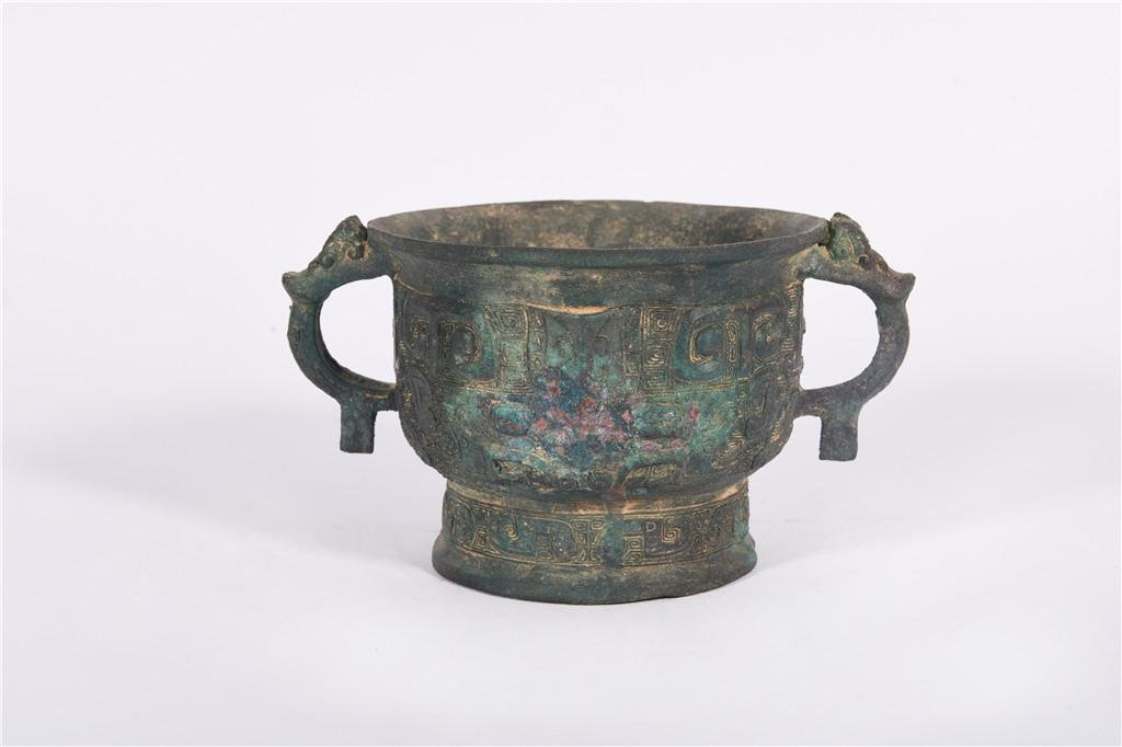 A Bronze Ding West Zhou Dynasty