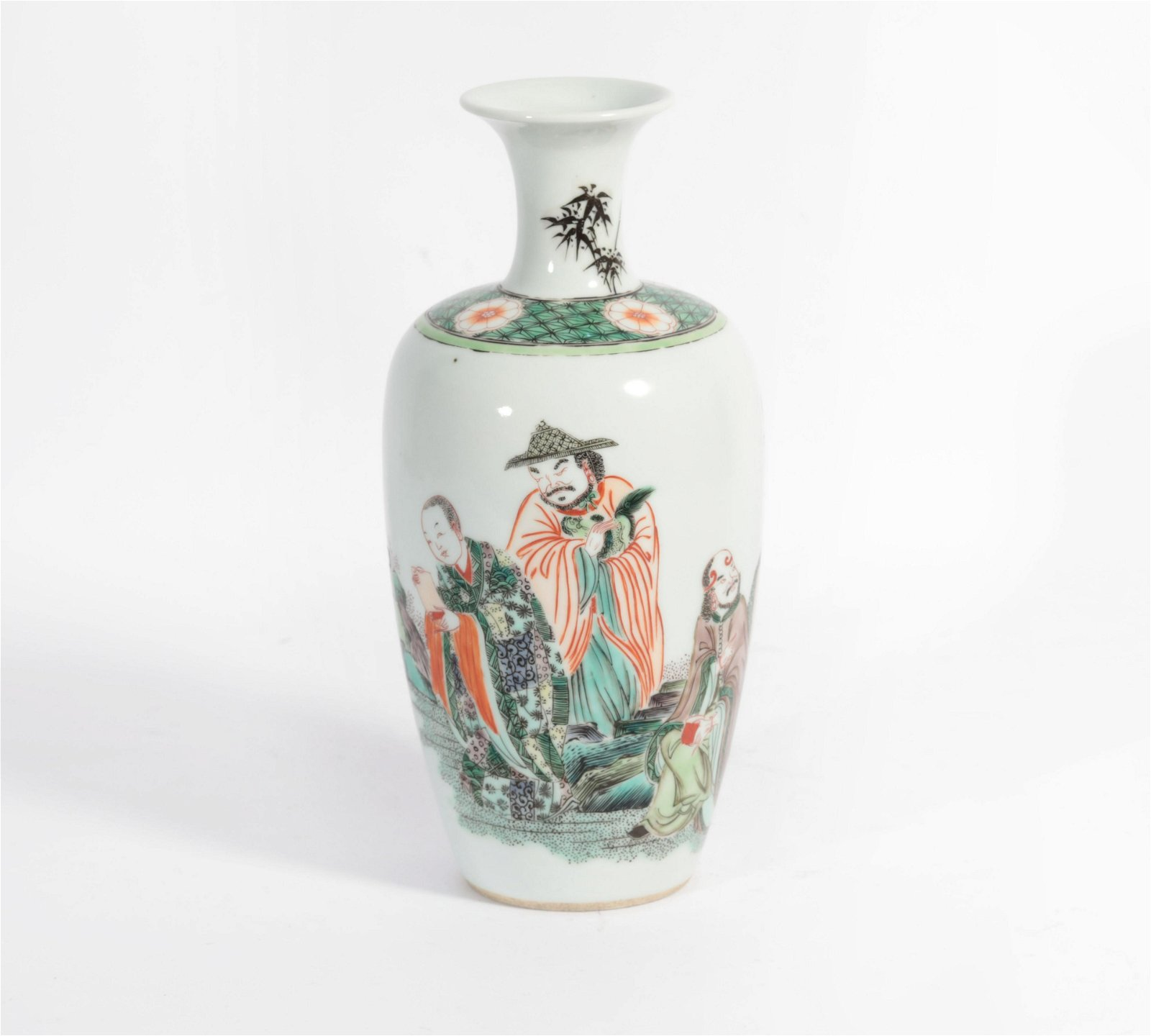 Bottle appreciation of colorful characters of Kangxi in