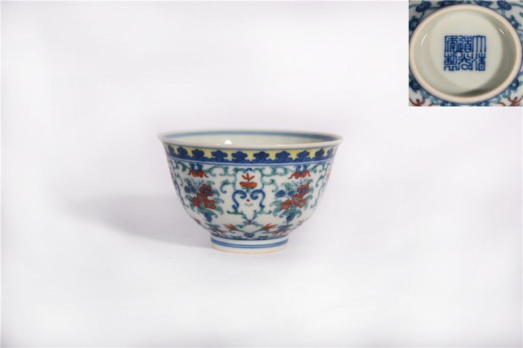 A DOucai Bowl Daoguang Period