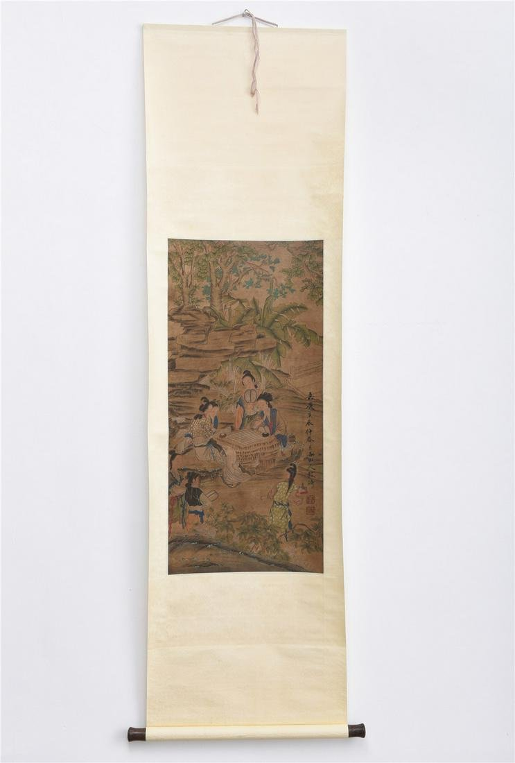 A Chinese Painting Handscroll
