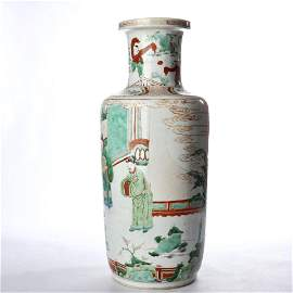 Wooden mallet bottles decorated with colorful figures