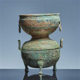 Bronze tripod of Han Dynasty Lot29-75 from the same