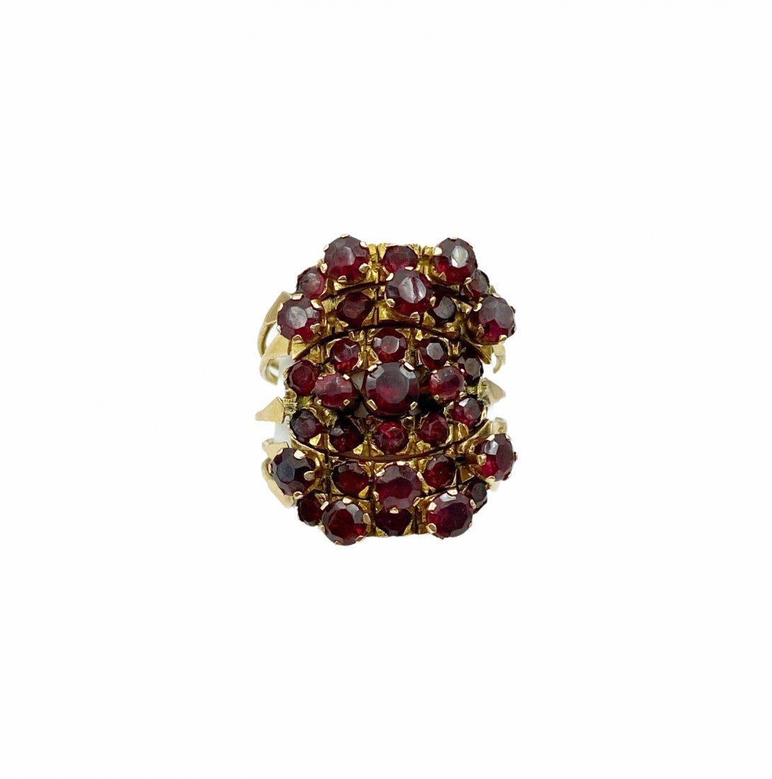 Vintage Garnet Harem Ring