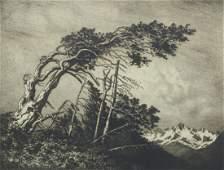 George Elbert Burr - Home of the Winds, No. 1