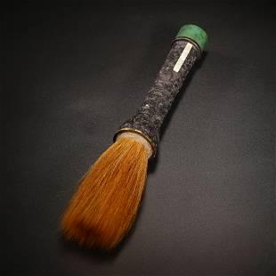 A Lobular Sandalwood Brush Pen